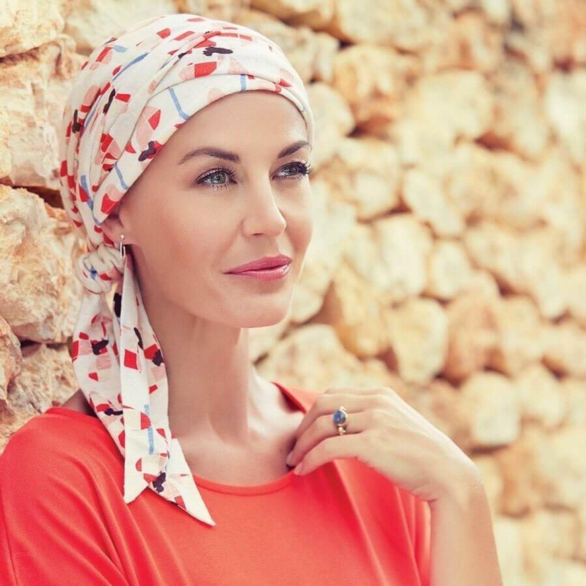 turban chimiothérapie lin