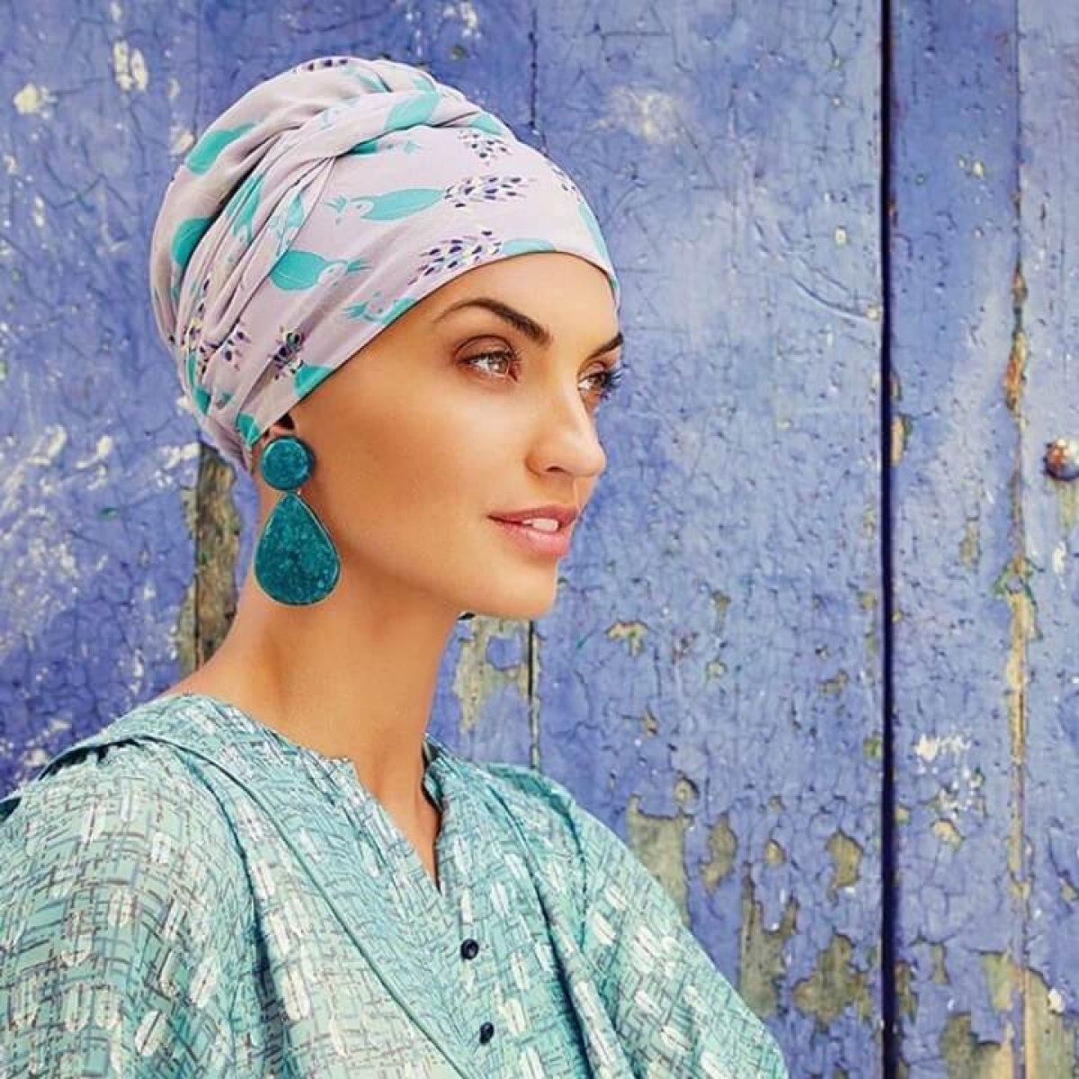 turban à nouer chimiothérapie